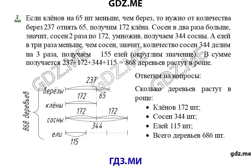 решебник по математике к дидактическому 3 класс козлова