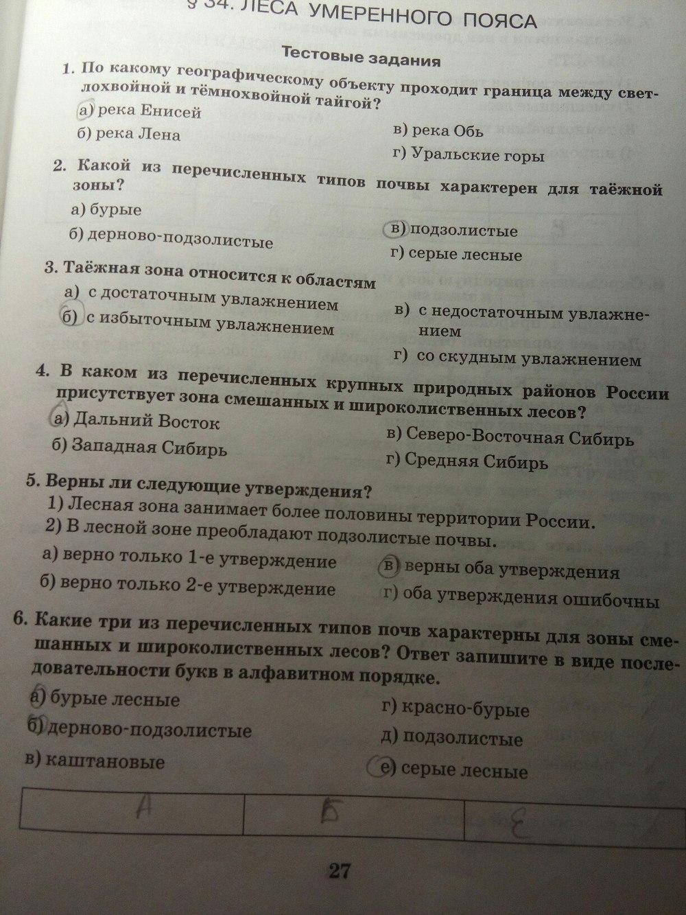 Павлоцкому 8 класс гдз по