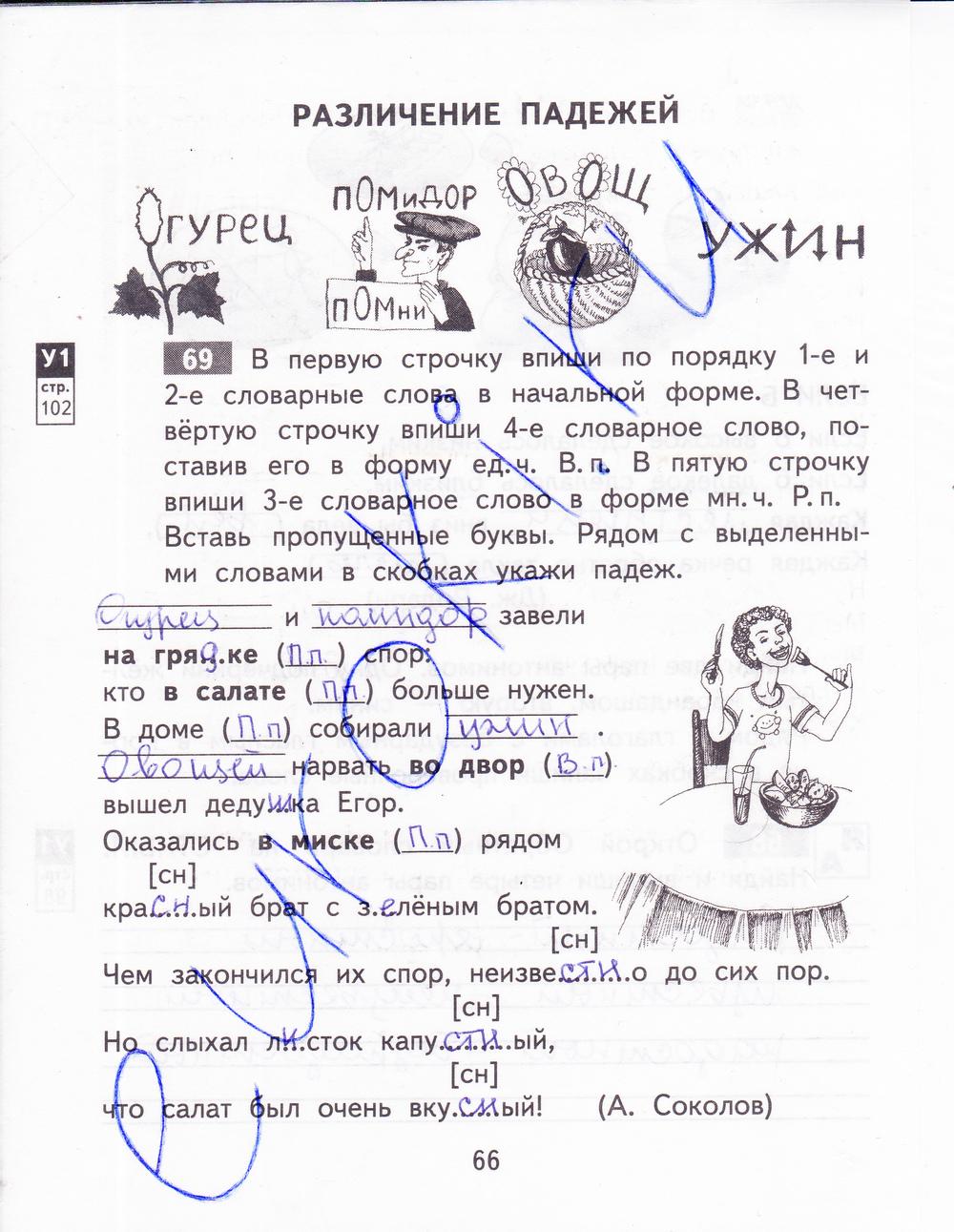 русский язык 3 класс стр 87