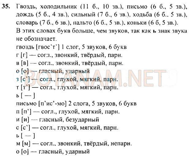 Домашнее задание 3 класс русский язык т г рамзаева