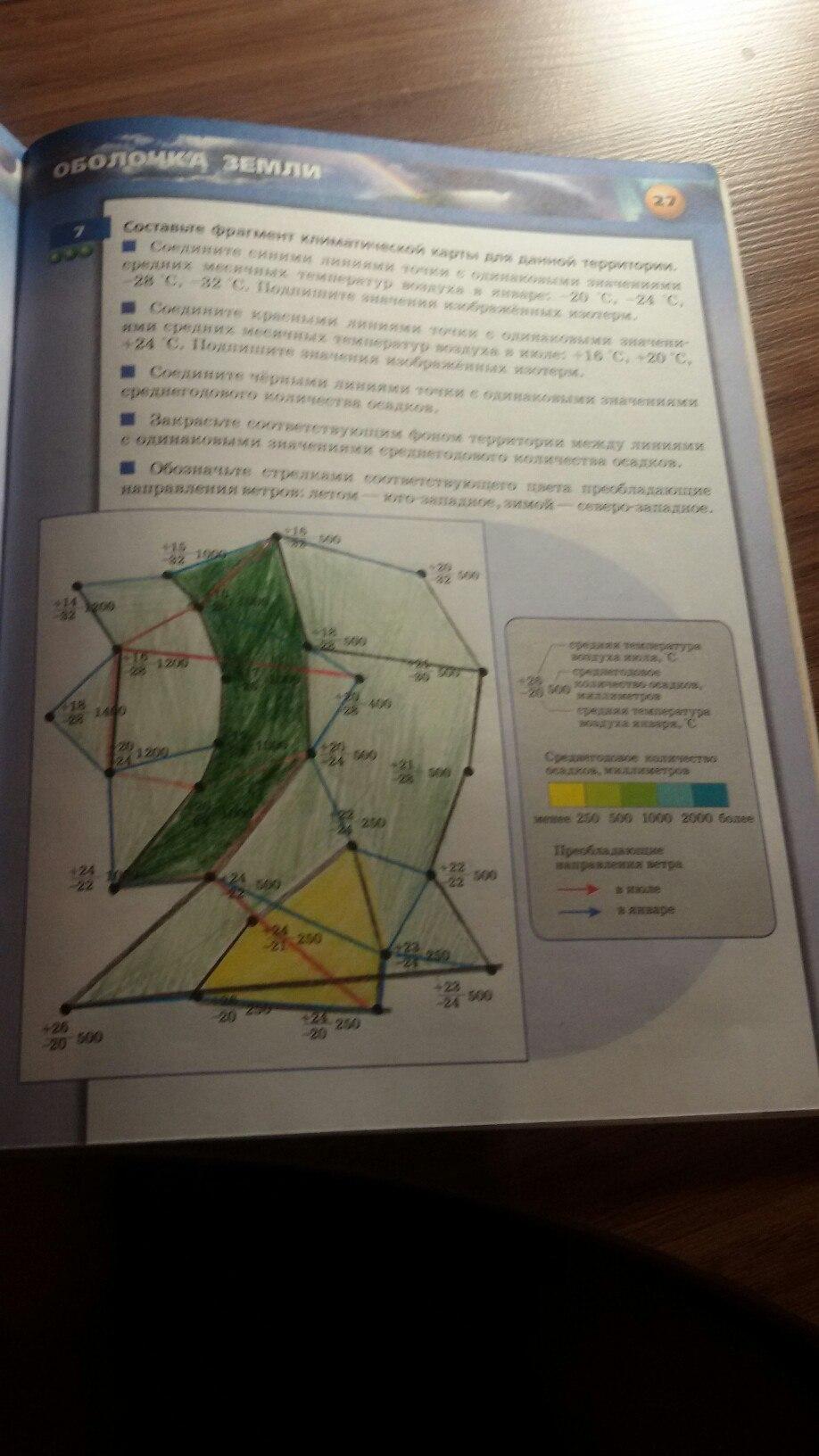 Рабочая тетрадь по географии 6 класс лобжанидзе