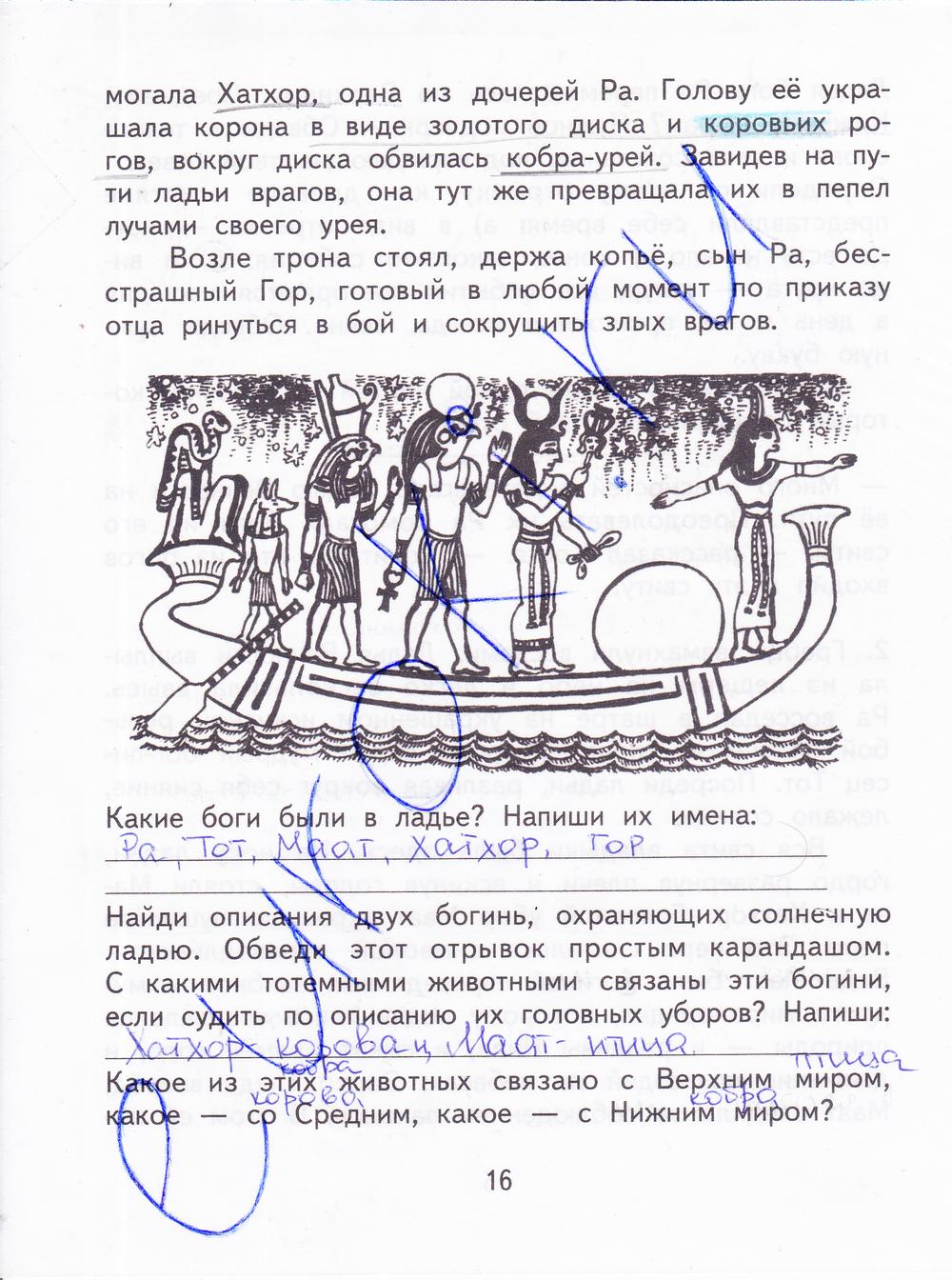 ГДЗ Литературное чтение 3 класс Ефросинина (рабочая тетрадь)