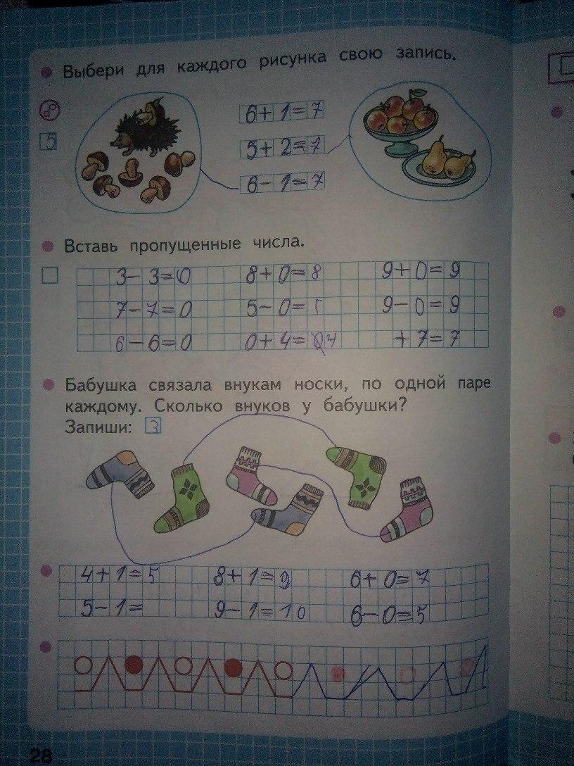 Учебник гармония математика 1 класс онлайн.