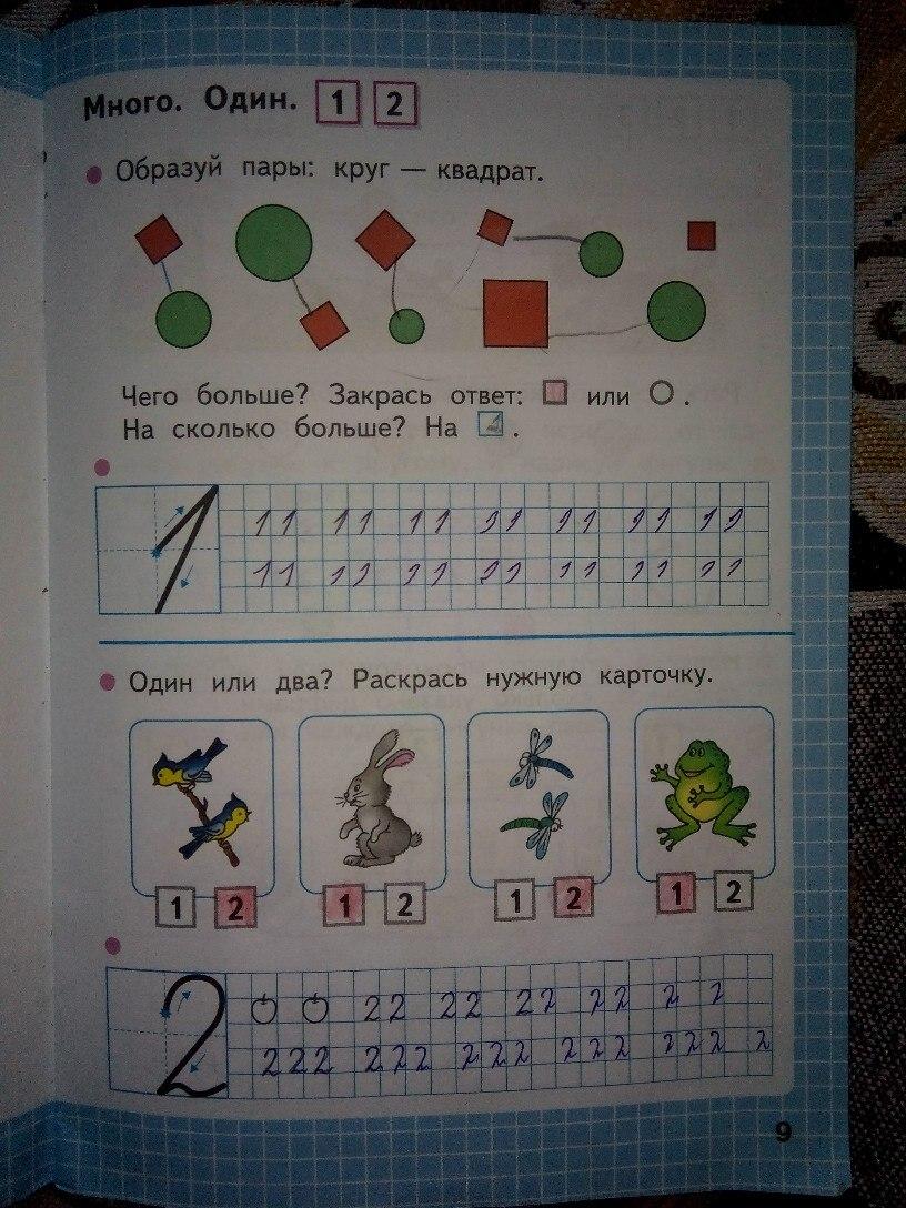 Рабочая тетрадь по математике 1 класс часть 12 моро волкова решения