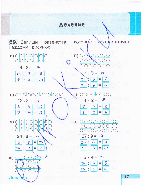 Тетрадь тпо математика 2 класс истомина решение