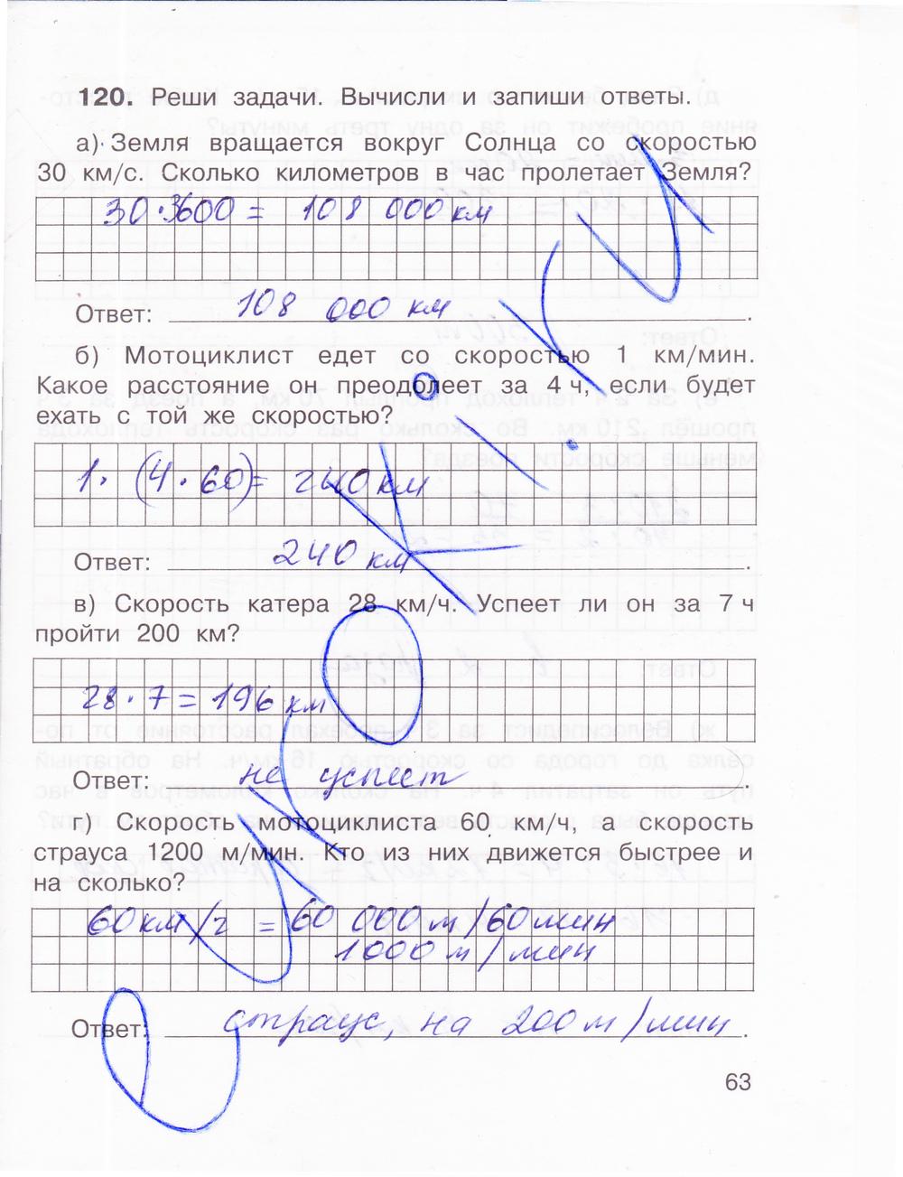 Методическое пособие к вопросам и задачам по математике 4 класс захарова