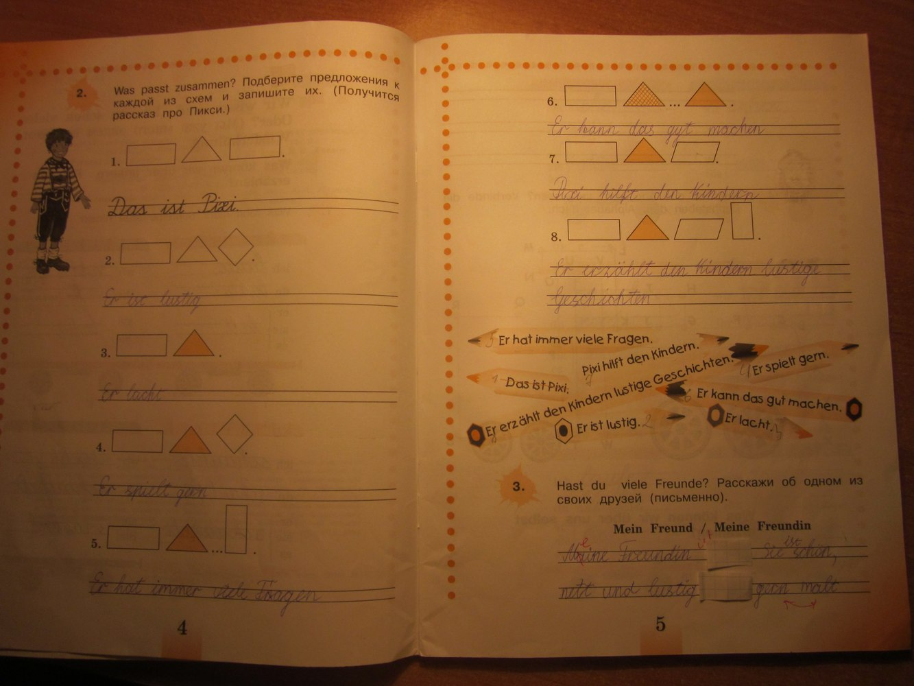 Гдз немецкий язык 5-6 класс бим рыжова
