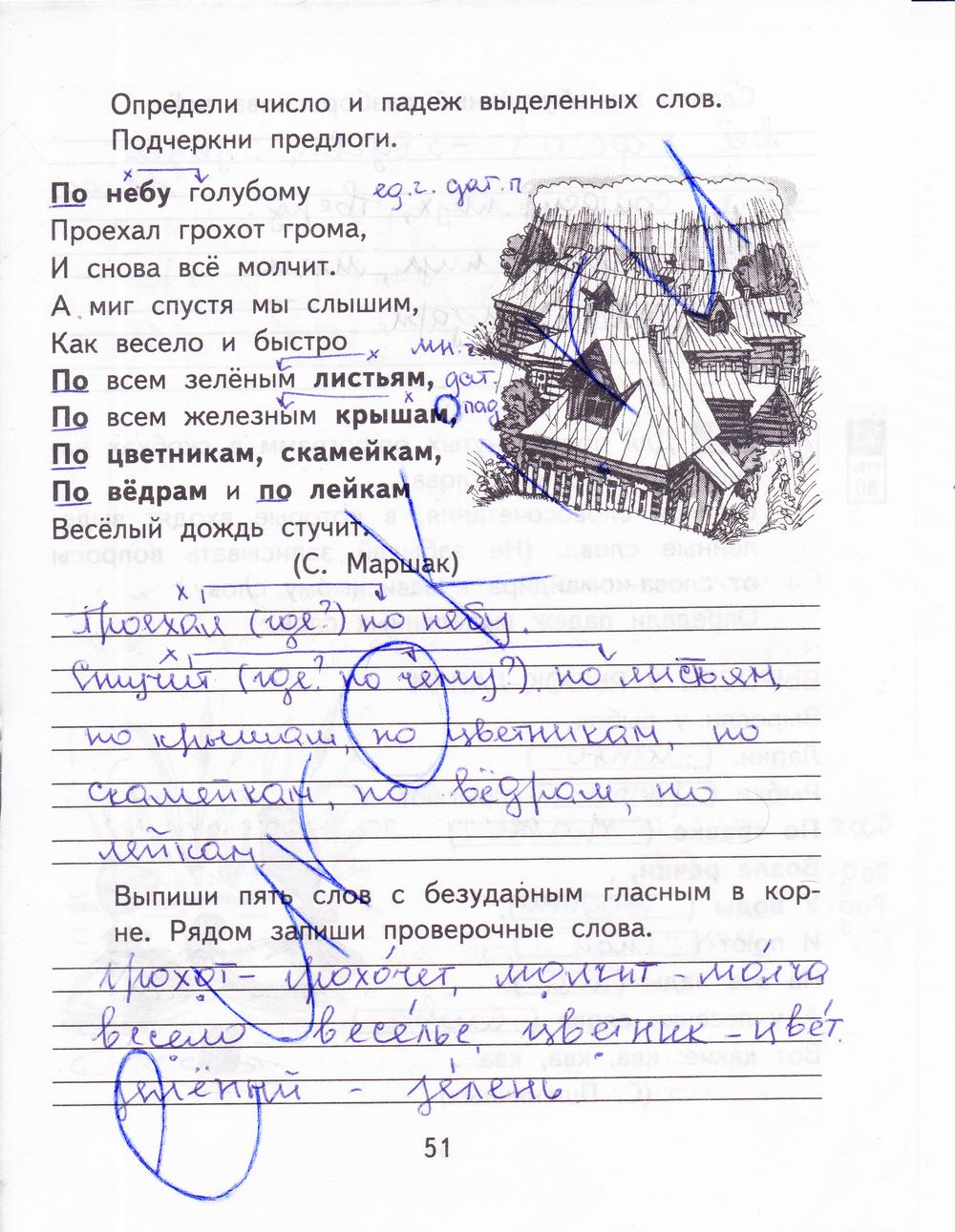 Смотреть ответ рабочая тетрадь по русскому языку зеленова за 3 класс