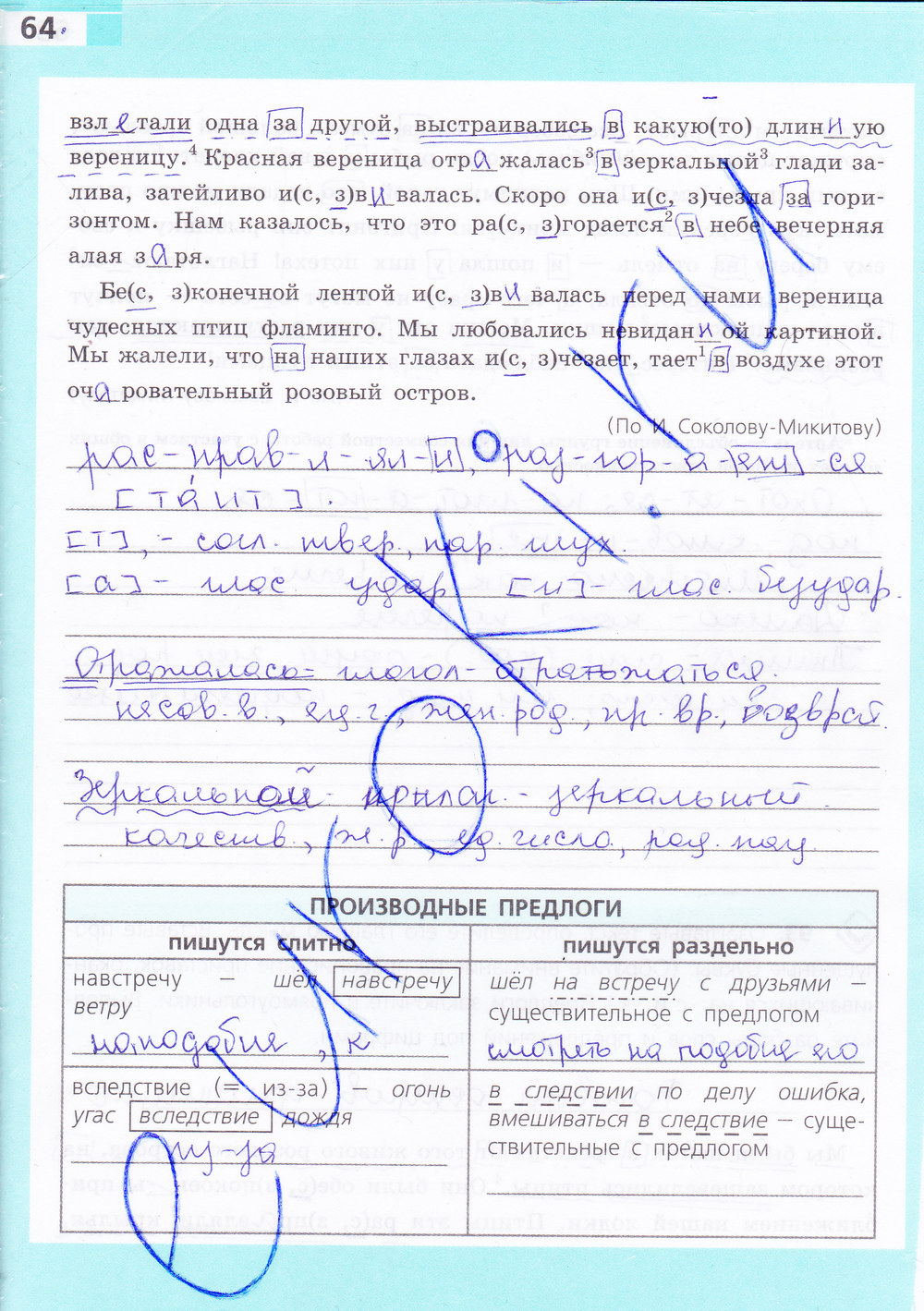 Скачать рабочую тетрадь по русскому языку 5 класс ефремова