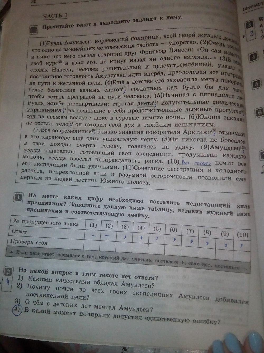 тематический контроль русский язык 7 класс цыбулько фгос скачать